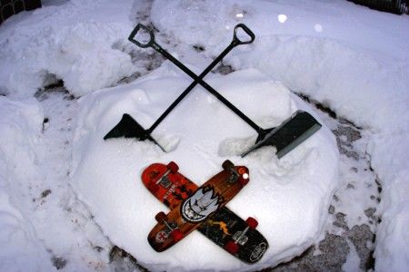 Snow Dummy Shovels