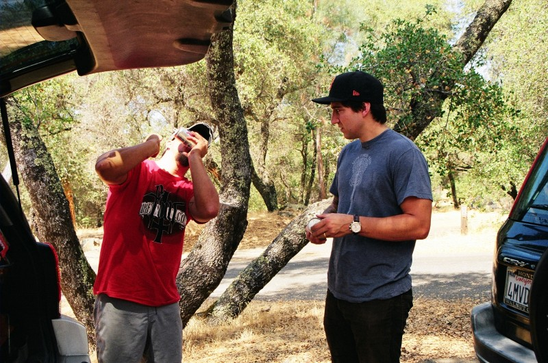 Shotgunned: DRTY-MYK with a fresh shotgun blast from a hatchet.