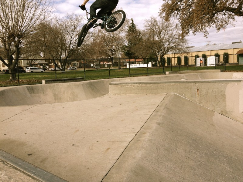 Jesse. Unexpectedly high 360 over the Paso Robles box. 