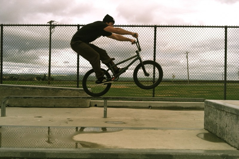 Andy. Rail Manual to Barspin. Greenfield.