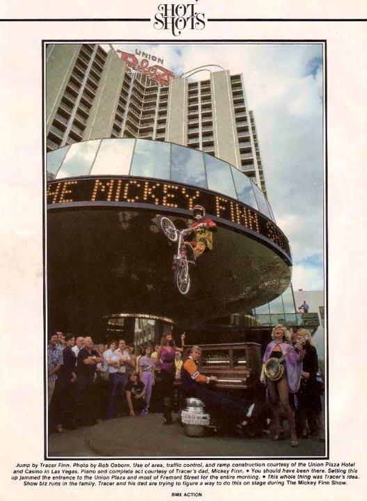 Mickey Finn, Tracer Finn, 1000 words multiplied...