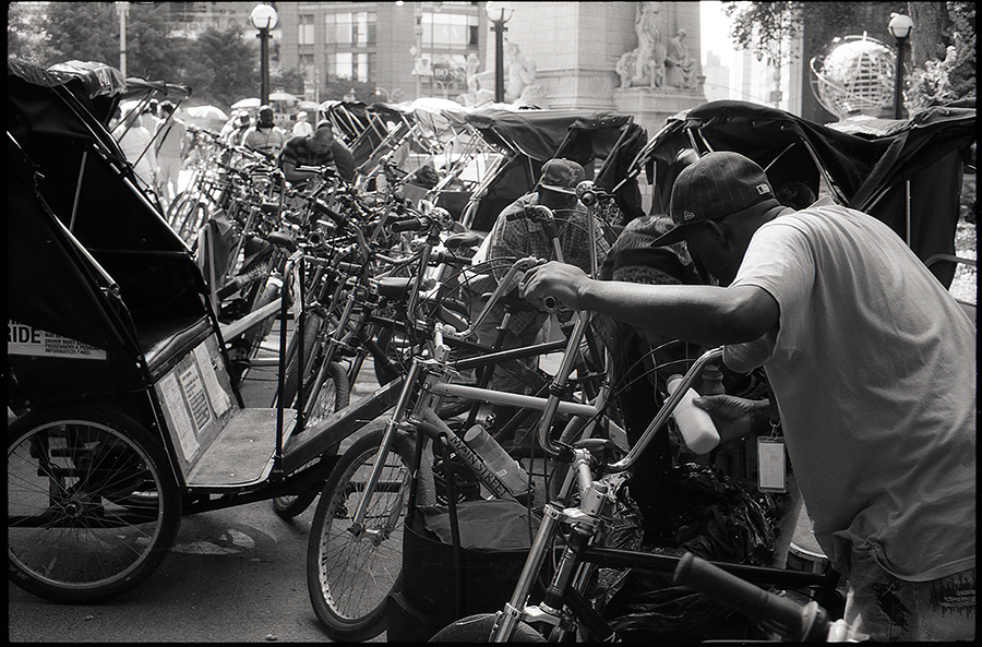 Pedal Cab, Central Park, NYC