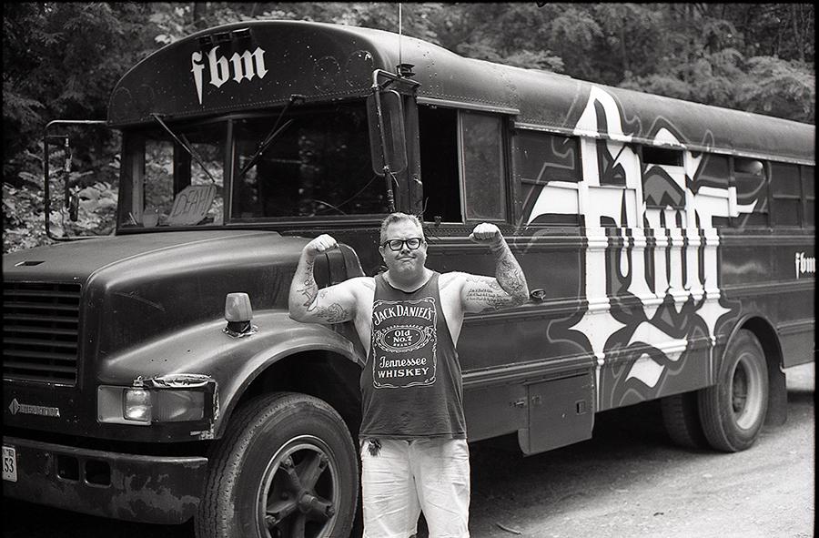 Steve Crandall, bus trip, Upstate, New York