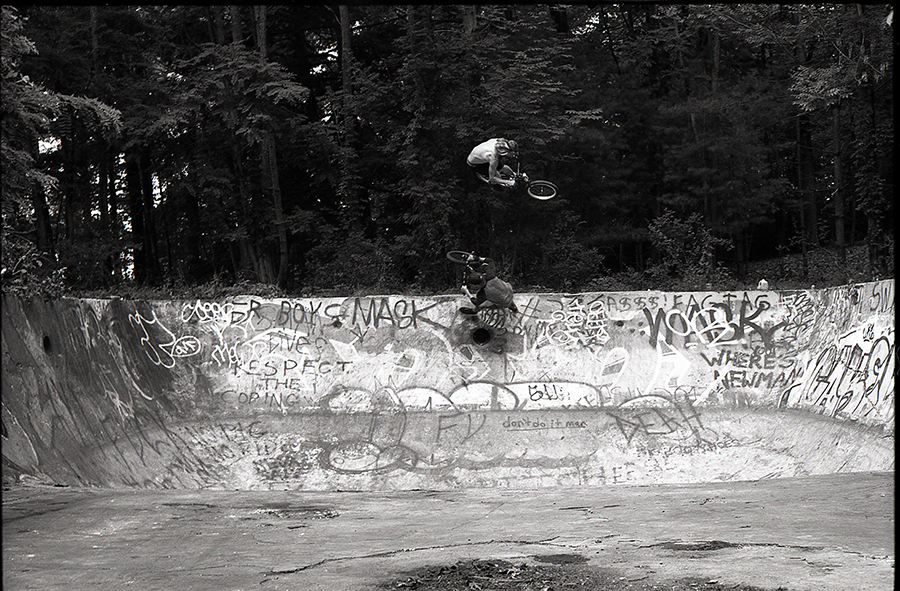 Jack Hartje and Dylan Pierce, over under, Upstate New York